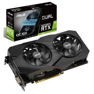 Видеокарта ASUS GeForce RTX2060 DUAL (DUAL-RTX2060-O6G-EVO)