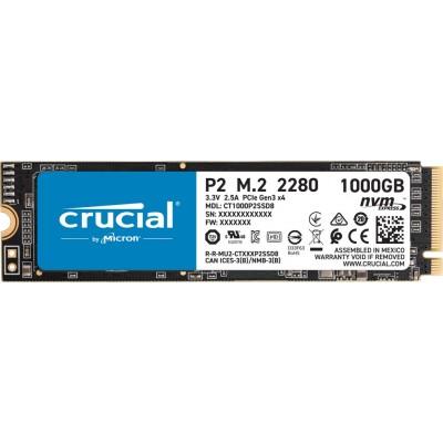 SSD M.2 PCI-E 1000Gb Crucial P2 Series ( CT1000P2SSD8 )