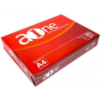 Бумага AONE A4/ 80г/м2, 500л.