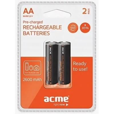 Аккумуляторы ACME AA 2600mAh HR6