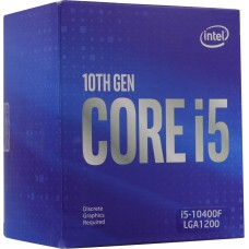 Процессор Intel Socket 1200 LGA Core i5-10400F 2.9Ghz (BX8070110400F)