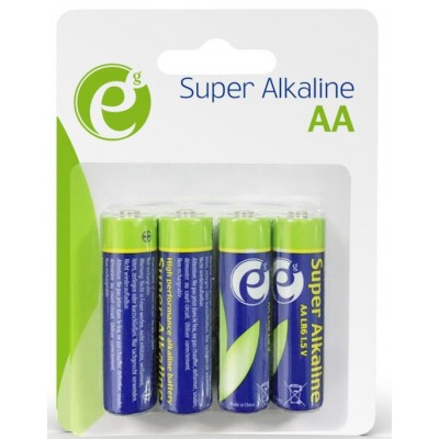 Батарейки Energenie AA Alkaline EG-BA-AA4-01 LR6 (цена за 4 шт.)