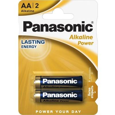 Батарейки Panasonic Batteries AA Alkaline LR6 (2шт.) LR6REB / 2BR
