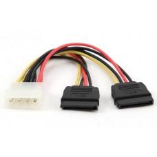 Кабель питания CC-SATA-PSY 2*Serial ATA 15 cm power cable