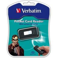 Картридер внешний Verbatim USB для MS и MSDuo (47129)
