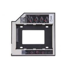Переходник для отсека DVD на HDD 2.5'' 9,5 мм блистер