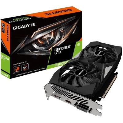 Видеокарта Gigabyte PCI-E 4096Mb GeForce GTX 1650 SUPER (GV-N165SWF2OC-4GD)