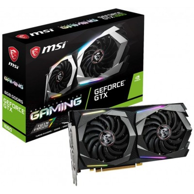 Видеокарта MSI PCI-E 6144Mb GeForce GTX 1660 (GTX 1660 GAMING 6G)