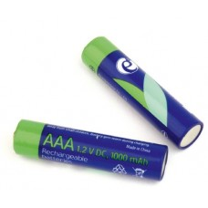 Аккумуляторы Energenie AAA 1000mAh EG-BA-AAA10-01 BL-2