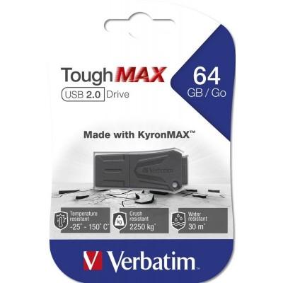 USB Flash Drive 64GB Verbatim (ToughMAX) USB2.0 (49332)