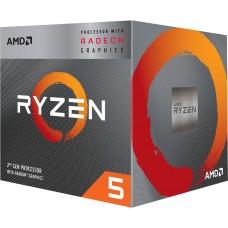 Процессор AMD Socket AM4 Ryzen 5 3400G 3.7 Ghz (YD3400C5FHBOX)