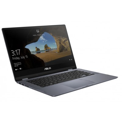 "Ноутбук Asus 14.0"" FHD (TP412UA) Intel Pentium 4415U 2.3Ghz/ DDR4 4Gb/ SSD 128Gb/ Win10"