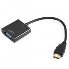 Переходник HDMI (male) папа - VGA (female) мама