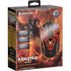 Мышь Defender Monstro GM-510L, игровая оптическая