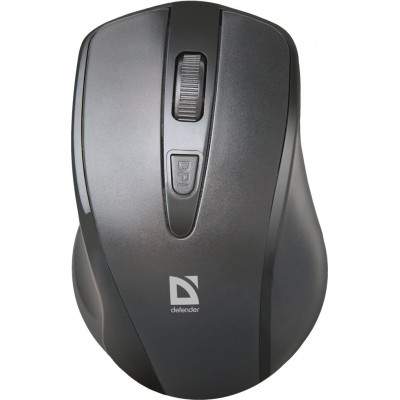 Мышь Defender Wireless Datum MM-265,чёрный