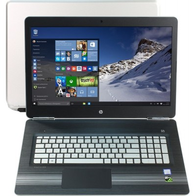 """Ноутбук HP 17.3"""" FHD (1an30ea) Intel Core i5-7300HQ 2.5GHz/ DDR4 8Gb/ HDD 1000Gb/ GTX 1050/ DVDRW/ Win 10"""