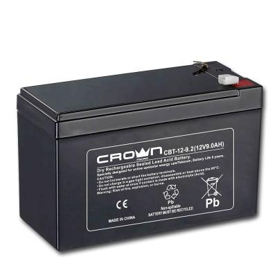Аккум батарея 12- 9 А/ч Crown CBT-12-9.2