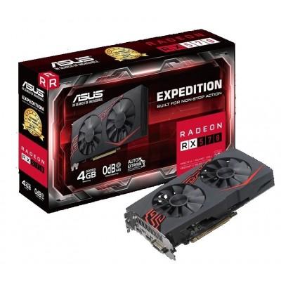 Видеокарта Asus PCI-E 4096Mb Radeon RX570 (EX-RX570-4G)