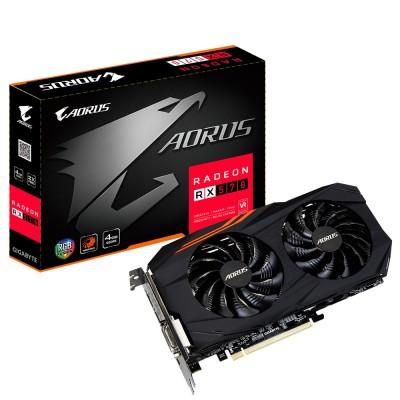 Видеокарта Gigabyte PCI-E 4096Mb Radeon RX570 (GV-RX570AORUS-4GD)