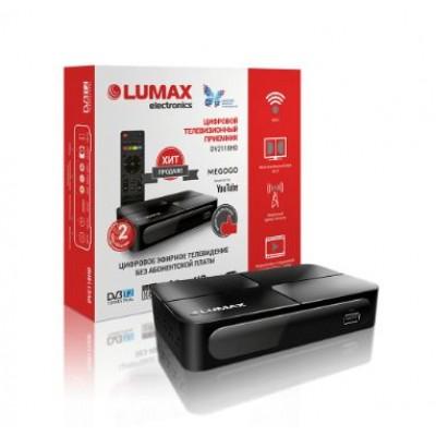 Цифровой эфирный приёмник LUMAX DV2118HD DVB-T2