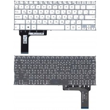 Клавиатура для Asus E202, TP201SA Белая
