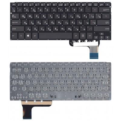Клавиатура для Asus ZenBook UX303U черная с подсветкой