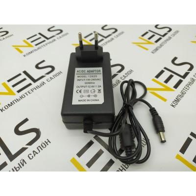 Блок питания для гироскутера 5.5 x 2.5 mm 12,6V 2A (24W)