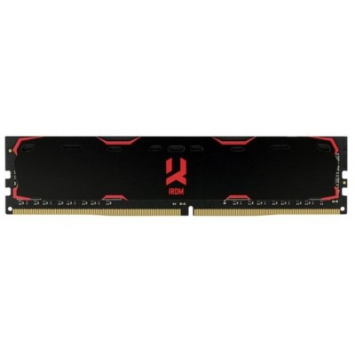 DDR-4 8192 Mb Goodram Iridium Black с радиатором IR-X2666D464L16S/8G