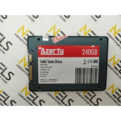2.5'' SSD SATA 240Gb Azerty BR (R510/W400) NAND 3D TLC