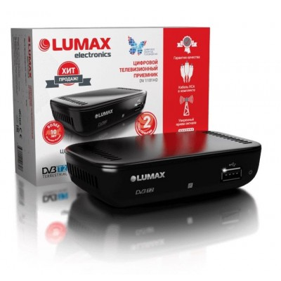 Цифровой эфирный приёмник Lumax DV1101HD