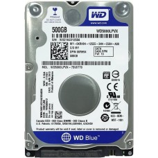 2.5'' HDD SATA  500Gb Western Digital Scorpio Blue ( WD5000LPCX )