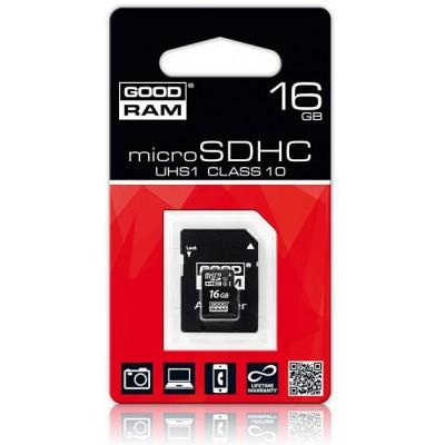 SDMicro 16Gb GoodRAM SDHC Class 10