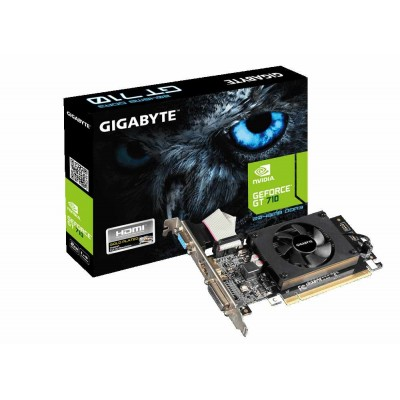 Видеокарта Gigabyte GeForce  GT 710 2Gb (GV-N710D3-2GL)