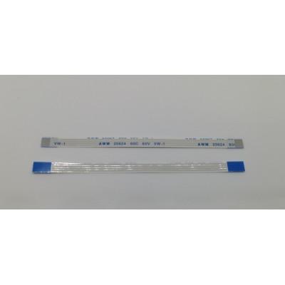 Шлейф FPC  4pin, шаг 1.0мм, длина 10см, прямой