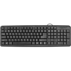 Клавиатура Defender HB-420 (черный), USB