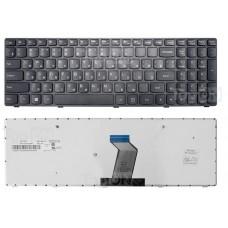 Клавиатура для Lenovo G500 G505 G505A G510 G700 G700A G710 G500AM G7 черная с черной рамкой