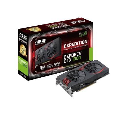 Видеокарта Asus PCI-E 6144Mb GeForce GTX1060 (EX-GTX1060-6G)