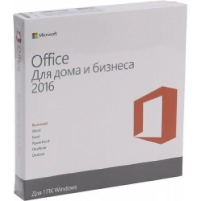 ПО Microsoft Office Home and Business 2016 32-bit/x64 Russian Russia DVD BOX  (T5D-02292)