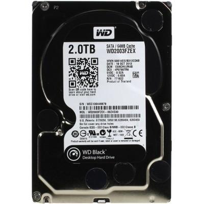 HDD SATA 2000 Gb Western Digital Black WD2003FZEX