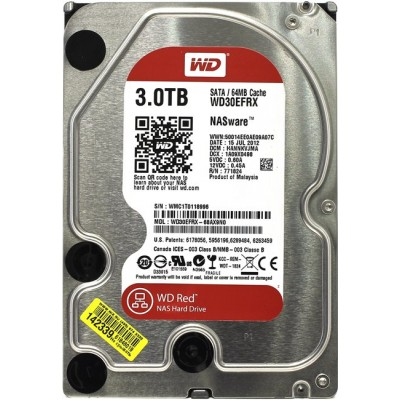 HDD SATA 3000 Gb WD Caviar Red WD30EFRX