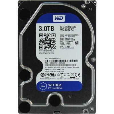 HDD SATA 3000 Gb Western Digital Caviar Blue WD30EZRZ