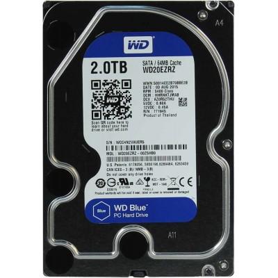 HDD SATA 2000Gb Western Digital Caviar Blue WD20EZRZ