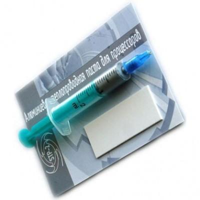 Термопаста алюминиевая WinLine STP-2 шприц 3 гр теплопроводность - 8.5 Вт/м*к + скребок