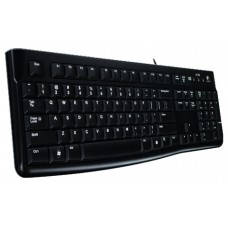 Клавиатура Logitech K120 (USB,waterproof, low profile) OEM 920-002522