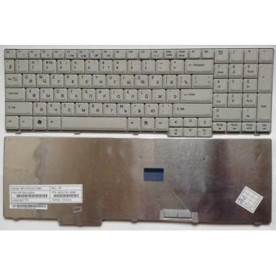 Клавиатура для Acer Aspire 5335, 6530G, 9300 Белая