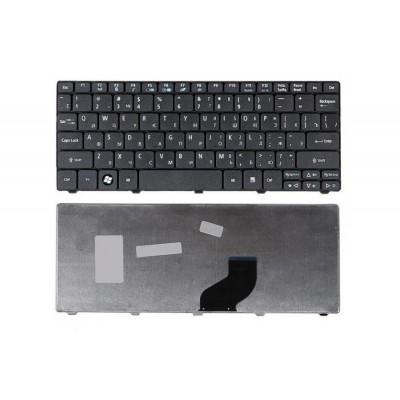 Клавиатура для Acer Aspire One 532, 532h, AO532H, D255, E-Machines 350 Series. Чёрная