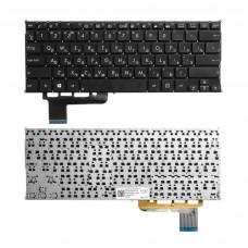 Клавиатура для Asus X201, X202, S200 черная без рамки