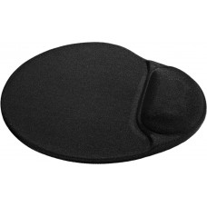 Коврик для мыши Defender Easy Work чёрный,лайкра 260x225x5 мм